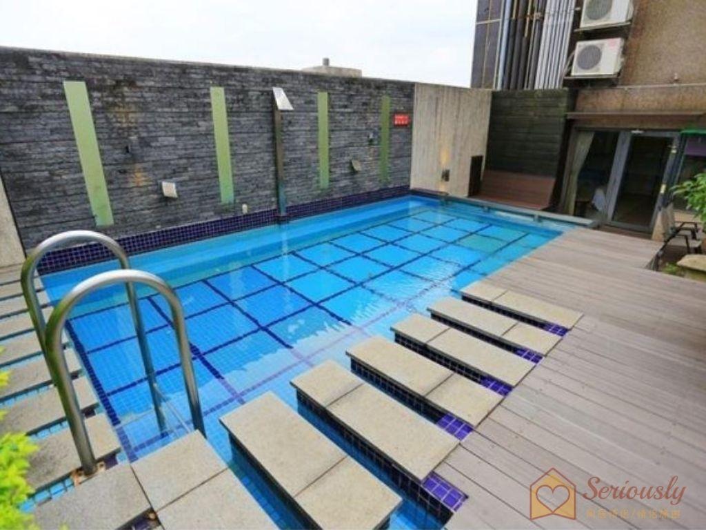 和風時尚會館-星光麗池房型泳池