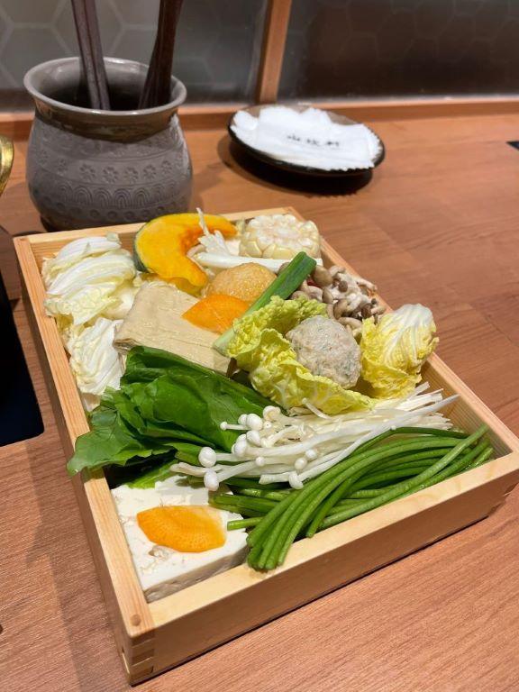 水炊軒菜盤