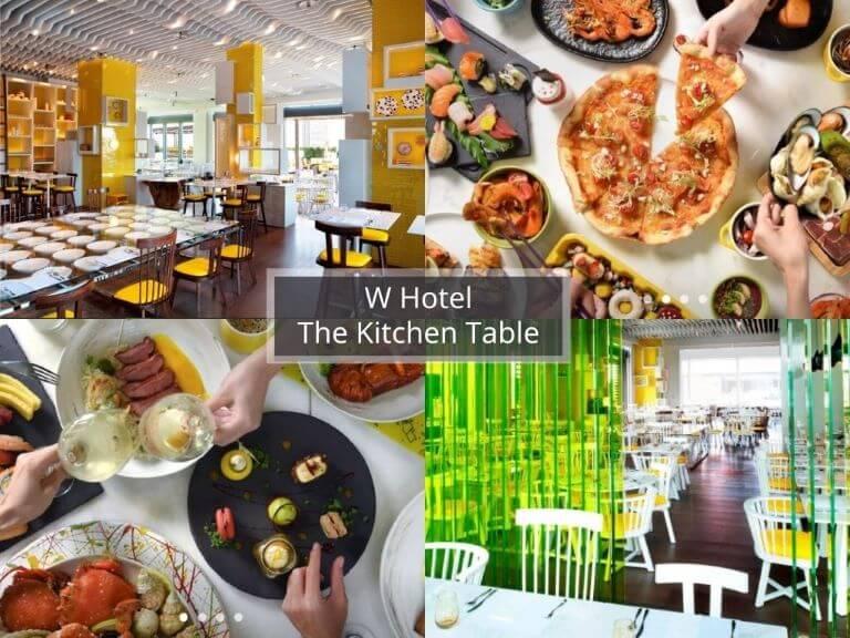 台北buffet-The Kitchen Table